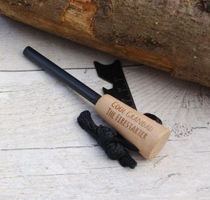 Personalised Camping Firestick Firesteel - favourites