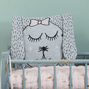 Little Miss Rabbit Organic Cushion