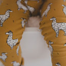 Handmade Baby And Toddler Unisex Alpaca Leggings