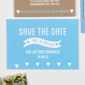 Besotted Owls Save The Date