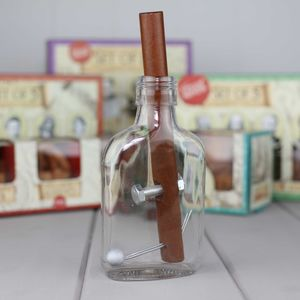 Churchill's Cigar And Whiskey Bottle Puzzle - toys & games