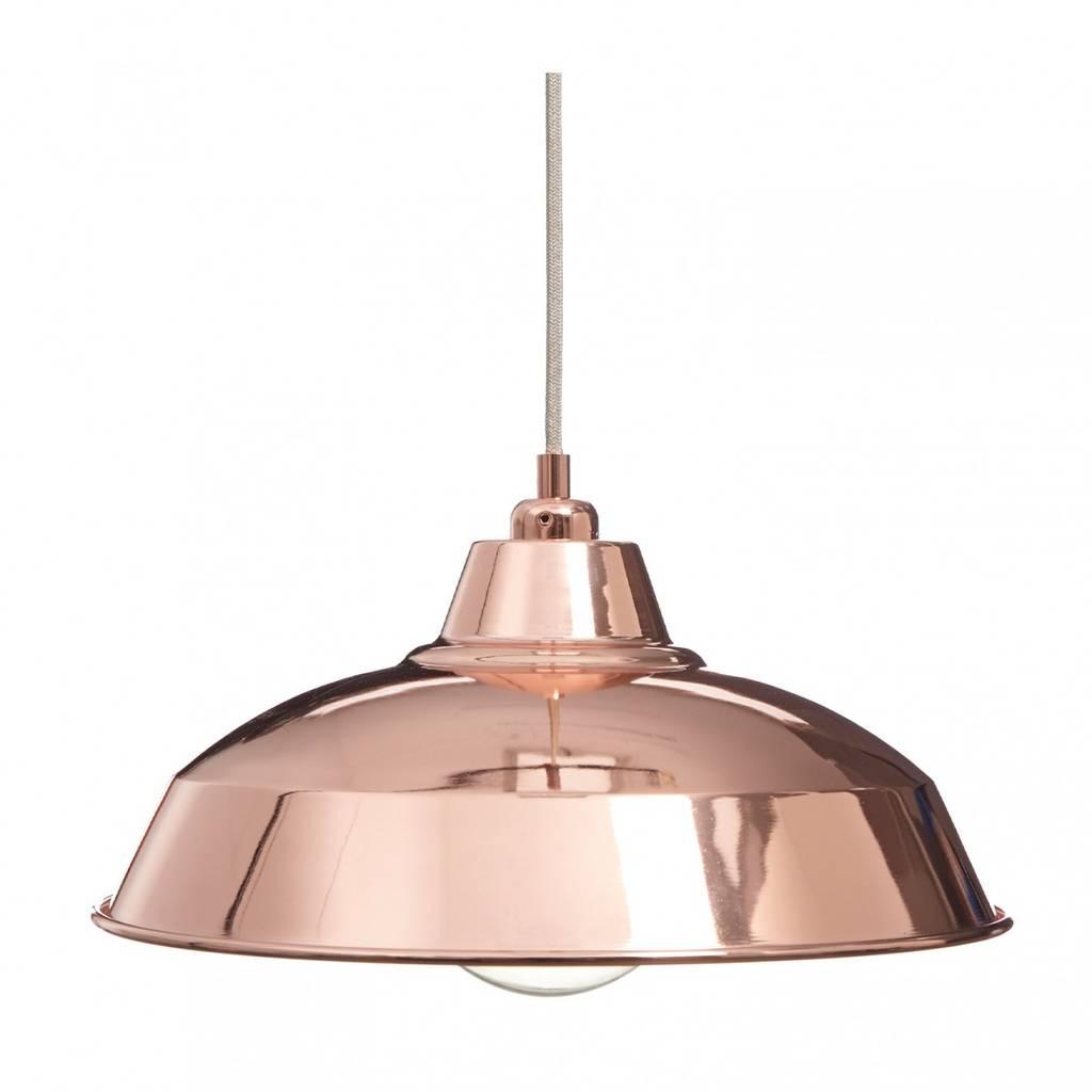 1950s lamp shade copper industrial lamp shade aloadofball Choice Image