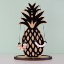 Personalised Pineapple Jewellery Stand