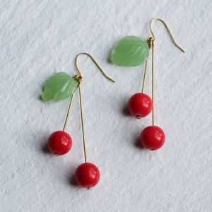 Cherry Earrings - earrings