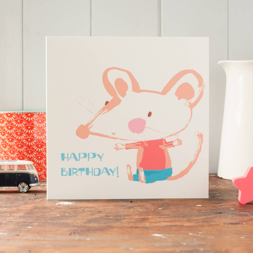 A Multipack Of Eight Cute Cards For Young Childrens Birthdays