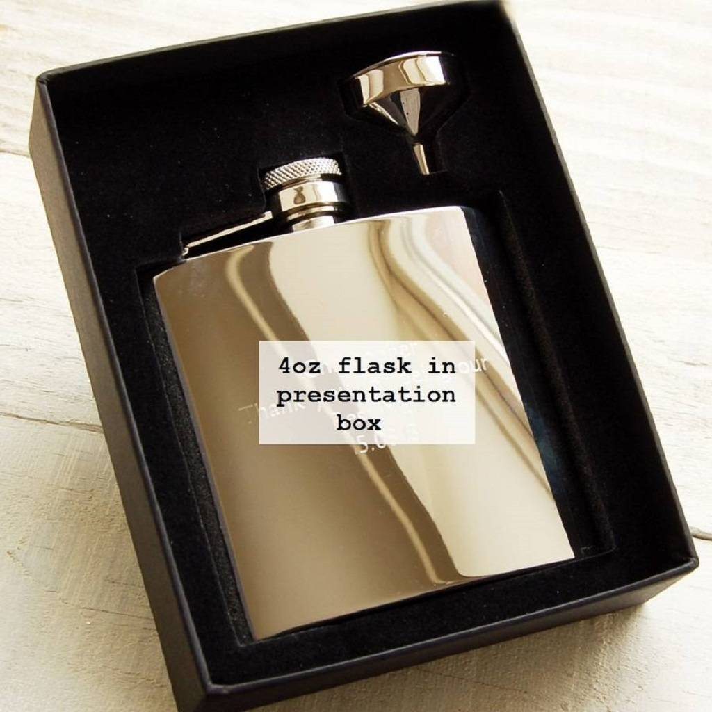 19b572e73feb pocket hip flask with initials by highland angel ...