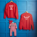 Daddy Elf, Mummy Elf, Raised By Elves Family Jumper Set