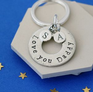 Love You Daddy Keyring - keyrings