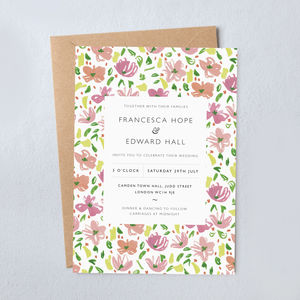 Daisy Wedding Invitations - what's new