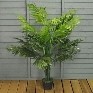 Artificial Topiary Palm Tree - flowers, plants & vases