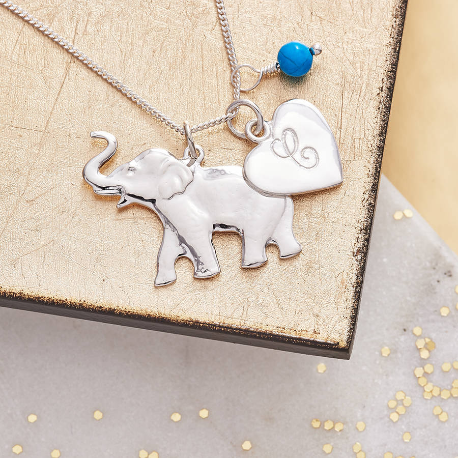 watches product shipping necklace cut gold today overstock diamond yellow free elephant pendant jewelry inch