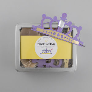 Princess Crown Craft Party Kit