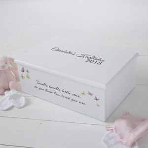 Twinkle Twinkle Keepsake Box - storage boxes & trunks