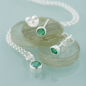 Birthstone Jewellery Set