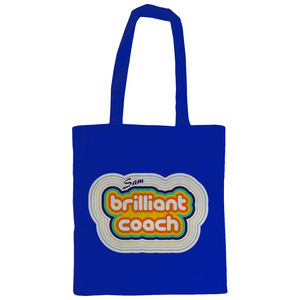 Personalised Brilliant Coach Tote Bag