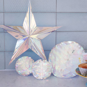 Party Decorations, Holographic Honeycomb Party