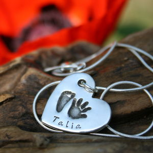 First Impressions Personalised Heart Necklace - women's jewellery