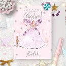 Nutcracker Christmas Card ' Sugar Plum Fairy '