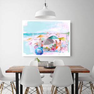 Riviera Dreams, Canvas Art - nature & landscape