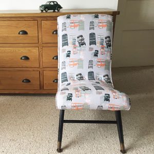 Mid Century London Bus Nursing Chair