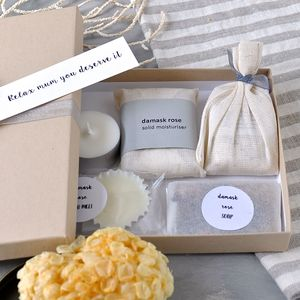 Organic Letterbox Spa Collection - gift sets