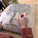 Mindfulness Paint Your Own Cushion Cover