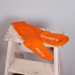 Ginger Socks