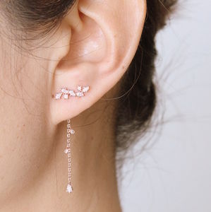Two Way Earrings - winter sale