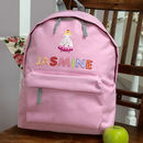Fairy Personalised Girls Backpack
