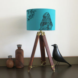 Gorilla Lampshade With Fifteen Fabric Colour Options - children's lighting