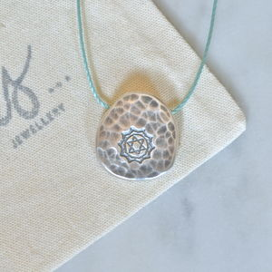 Silver Heart Chakra Necklace - necklaces & pendants