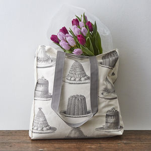 Grey Jelly And Cake Tote Bag