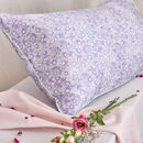 Silk Pillowcase 'Drawn Like A Daisy'
