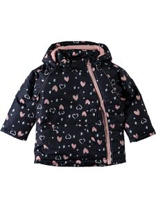Micco Heart Navy Jacket - clothing
