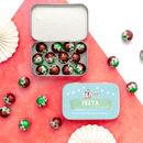 Personalised Christmas Keepsake Tin