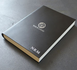 Corporate Branded Leather Journal / Notebook