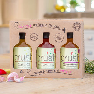 Infused British Oils Gift Box - gift sets