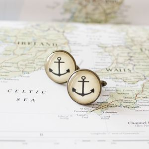 Anchor Cufflinks - cufflinks