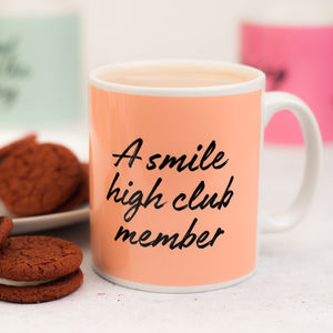 Smile High Club Member Mug - mugs