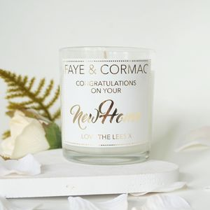 New Home Scented Candle
