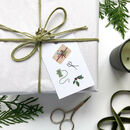 'All Wrapped Up' Christmas Gift Tag Set