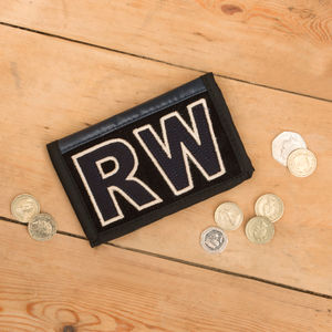 Personalised Tarpaulin Wallet