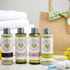 The Complete Natural And Organic Baby Skincare Gift Set - mother & baby care sets