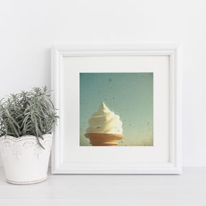 Ice Cream Photographic Print - posters & prints