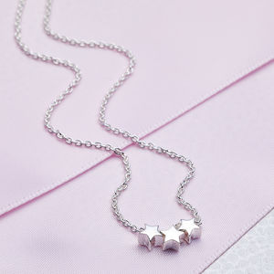 Sterling Silver Dream Star Necklace - christening jewellery