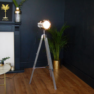 Hollywood Style Film Industrial Warehouse Lamp - table & floor lamps
