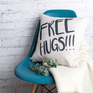 Free Hugs Cushion Cover