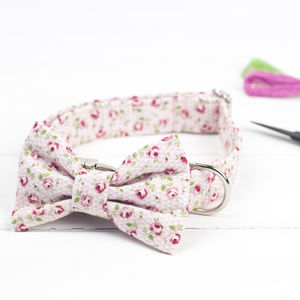 Rosie Dog Bow Tie - clothes & accessories