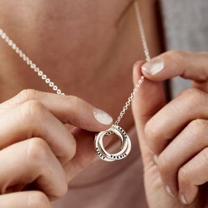 Personalised Russian Ring Necklace - best gifts for her