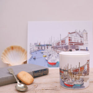 Bristol Harbourside Bone China Mug